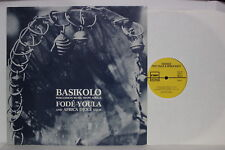 Basikolo - Percussion Music From Africa - LP - FMP - SAJ-48