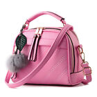 Moda Cuero Bag Bolso Mujer Bolso De Mano Y Hombro Bolso Mujer Rosa Beige