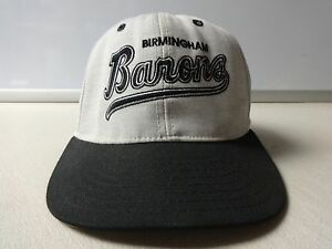 Vintage Birmingham Barons Fitted Ballcap Minor League 6 5/8 by Authentic Proline