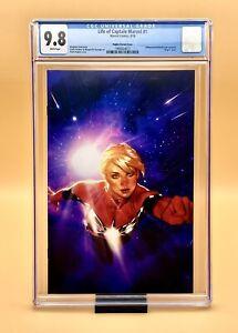 CGC 9.8 Life of Captain Marvel #1 Adam Hughes VIRGIN Variant Cover Marvel
