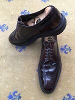 Prada Mens Brown Leather Lace Up Shoes UK 9.5 US 10.5 EU 43.5 2EG 015 Derby