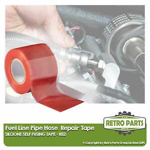 Fuel Line Hose Pipe Repair Tape For Kia. Leak Fix Pro Sealant Red