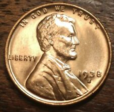 1938 S Lincoln Cent 8743