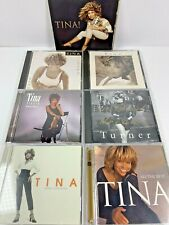 Tina Turner Lot of 7 Music CD's ~ Greatest Hits + MORE! Hits from 1993 to 2008!
