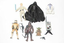 modern star wars action figure lot chewbacca bowcaster yoda stormtrooper r2d2