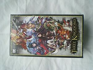 WAR OF THREE KINGDOMS THE CARD GAME 57 GAMES BRAND NEW