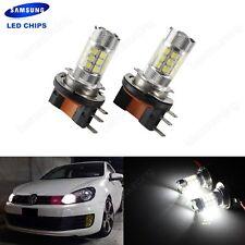 2 Ampoule H15 30W SAMSUNG LED Feux Brouillard DRL VW Amarok Caddy Golf Tiguan T5