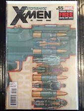 Astonishing X-Men #55 NM- 1st Print Free UK P&P Marvel Comics