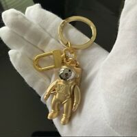 Limited edition Louis Vuitton astronaut spaceman keyring Bag Charm Keychain gold