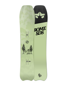 SNOWBOARD MENS 153 ALL MOUNTAIN  ROME SERVICE DOG 2021 FREERIDE DIRECTIONAL POW