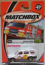 Matchbox 2001 Nissan Xterra Weekend Cruisers W+