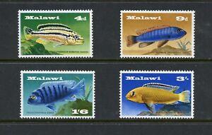 D214 Malawi 1967 Poisson Marine 4v. MNH