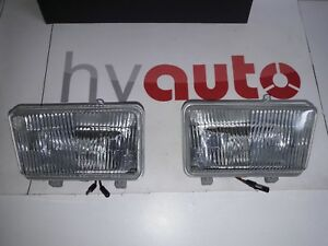 Lancia Delta Integral Fog Light Fog Lights Foglights Fari Siem New