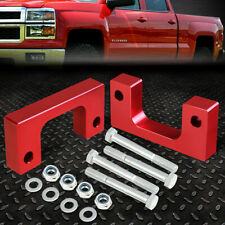 "FOR 2007-2017 SILVERADO/SIERRA 1500 RED 1.5""FRONT LOW MOUNT LEVELING LIFT KIT"