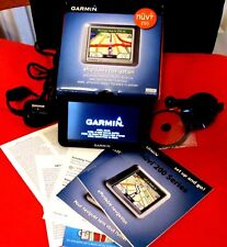 Garmin Nüvi 250 city navigator bundle vehicle mount power cable disk in box