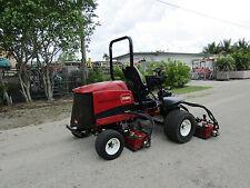 """Toro 5510 Fairway Reel Mower Kubota Diesel 100"""" cut - DPA reels Model 03680"""