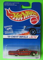 Hot Wheels '59 Chevy Impala International Foreign Card 1997 First Edition #517