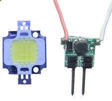 10W White High Power LED + 10W 12V High Power Driver Power Supply MR16