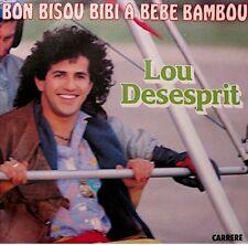++LOU DESESPRIT bon bisou bibi a bebe bambou/instrumental SP 1983 EX++