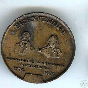 old Medal token medallion KENTISH GUARDS Bicentennial