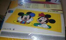 Vintage Walt Disney Rug Mickey And Minnie 67 x 120cm