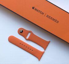 Apple Hermes Sports Band Strap - 40/38mm Orange - UK FREE POSTAGE