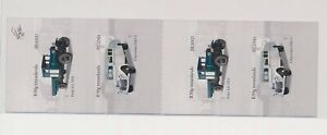LO37717 Iceland old timers vehicles cars good booklet MNH