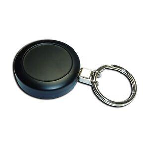 Yo Yo Retractable Badge Reel Heavy Duty Black, Cord with Key Ring attachment