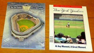 1991 & 2008  New York Yankees Yearbooks