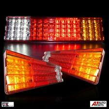 2x 70 Led Rear Tail Truck Lights For Daf Iveco Scania Volvo Man Renault 24v