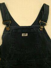 Guess Baby Denim Bib Overalls Navy Blue Jean Vintage Boy Girl Size 4Y 4