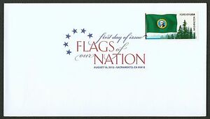 #4328 Flags of Our Nation: Washington, Digital Color FDC ANY 5=