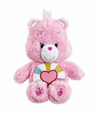"Care Bears Soft 8"" Small Plush - Fluffy Friends - Hopeful Heart Bear - 43024 NEW"