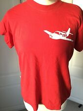 """Bright Red T-shirt with FIBER Logo from Benicassim Festival 38"""""""