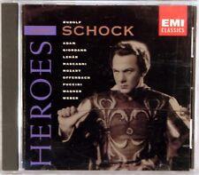 EMI Opera Heroes RUDOLF SCHOCK Mozart Puccini Wagner (CD, 1998) CDM 5-66811-2
