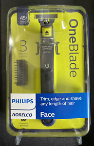 philips Norelco QP2520 OneBlade Men's Electric Trimmer and Shaver - Lime...NIB