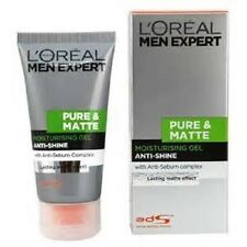 2 x Loreal Men Expert Pure & Matte Moisturising Gel Anti-Shine 50ml EACH