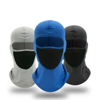 Outdoor Ski bike Motorcycle Cycling Balaclava Lycra Full Face Mask Neck Thin