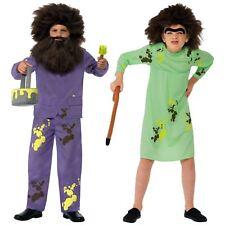 Kids Official Roald Dahl Mr Mrs Twit Fancy Dress Book Week Character Costume