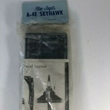 Vintage Mini Craft A-4E Skyhawk  1/72 scale Blue Angels Model Kit