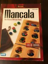 Parker Brothers Mancala The Classic African Game Wood Board Marbles