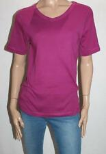 Millers Brand Cerise V Neck Short Sleeve T-Shirt Size 12-M BNWT #SM01