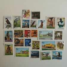More details for 150 different zambia stamp collection