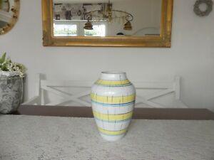 Bodenvase Höhe 31 cm Tisch Vase 230/35 Made in West Germany Keramik 50er Jahre