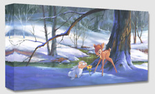 Disney Fine Art Treasures On Canvas Collection First Hint of Spring-Bambi