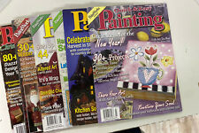 6 Quick & Easy Painting Magazine w/Patterns Tole Decorative Painting 2005