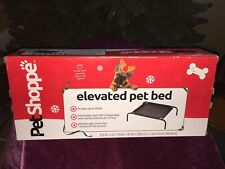 """New listing Elevated Dog Bed Cot With Mesh Center For Pets Up To 20 Pounds - """"New In Box"""""""