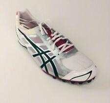 Asics Hyper LD 5 Flash Men's Track shoe spikes White/Silver/Black G304N