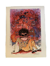 Joey Feldman Art Print As Your Attorney Hunter S. Thompson Signed XX/125 Giclee