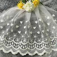 1 yd Vintage Lace Bridal Wedding Edge Trim Sewing Craft Costume Accessory 35cm